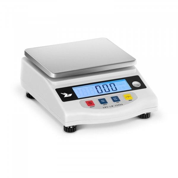 Přesná váha - 2000 g / 0,01 g - LCD