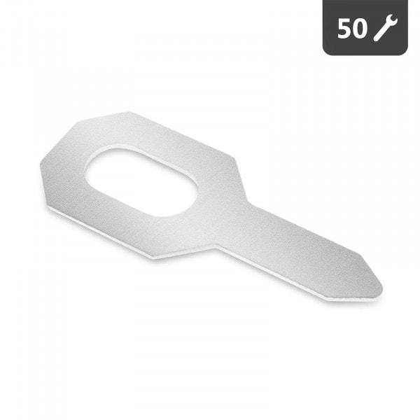 Přivařovací očka - 50 kusů