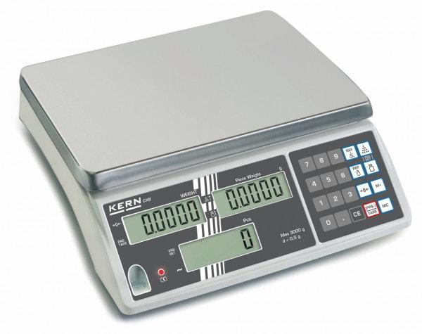 KERN počítací váha - 3000 g / 1 g - volitelná kalibrace