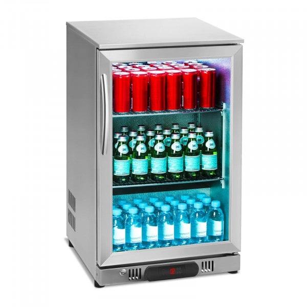 B-zboží Chladničky na nápoje - 108 L - ušlechtilá ocel