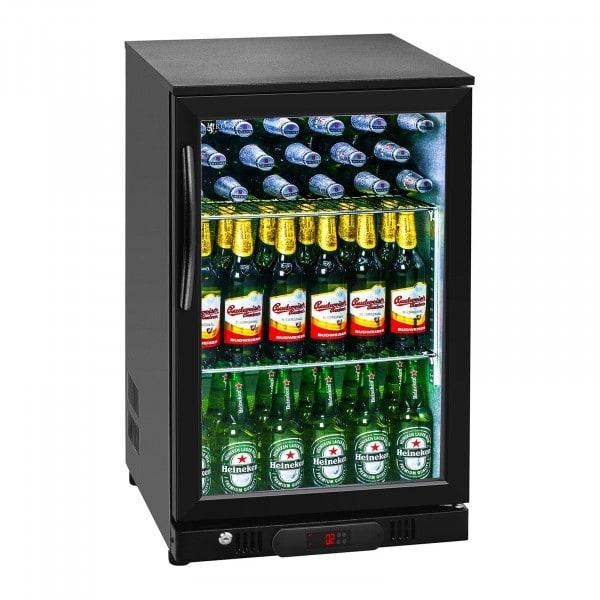 B-zboží Chladnička - 108 litrů - uvnitř hliník