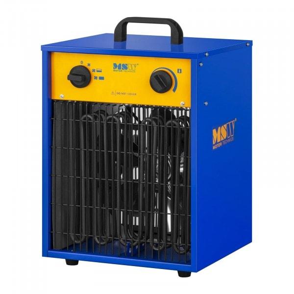 Elektrické topidlo s ventilátorem - 0 až 85 °C - 9 000 W