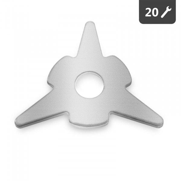 Zarovnávací hvězdice - 20 kusů