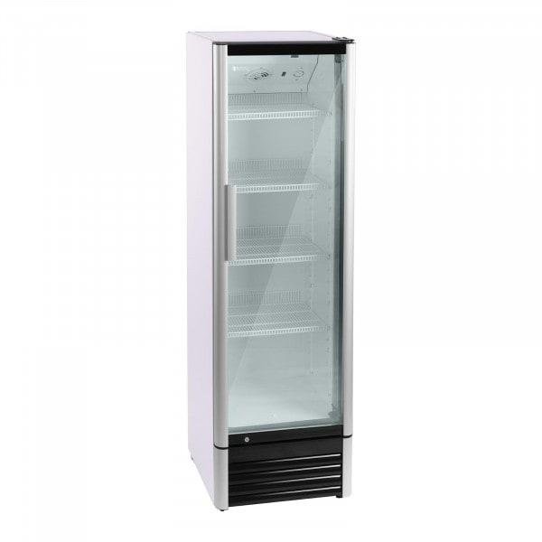 Chladnička na nápoje - 320 l - LED - hliníkový rám