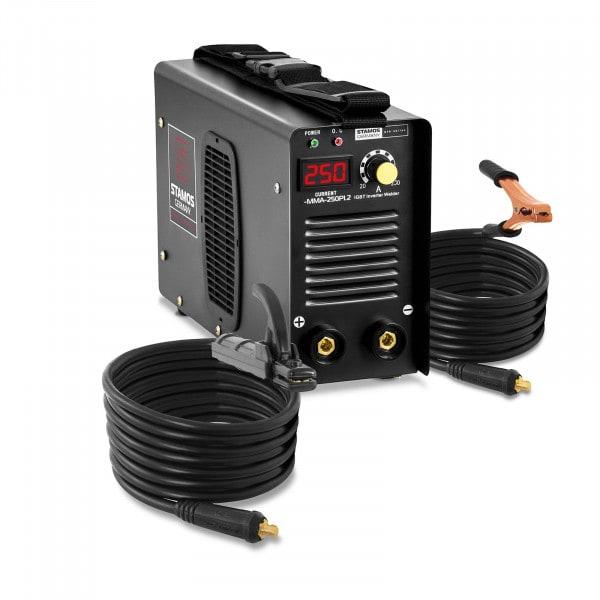 Elektrodová svářečka-250 A-kabel 8m-Hot Start-PRO