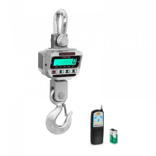 Jeřábová váha - 10 t / 2 kg - LCD