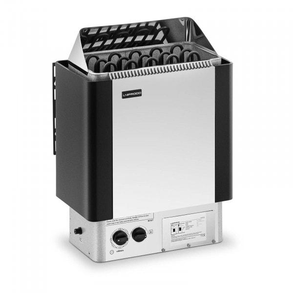 B-zboží Saunová kamna - 8 kW - 30 až 110 °C - se zabudovaným ovládáním
