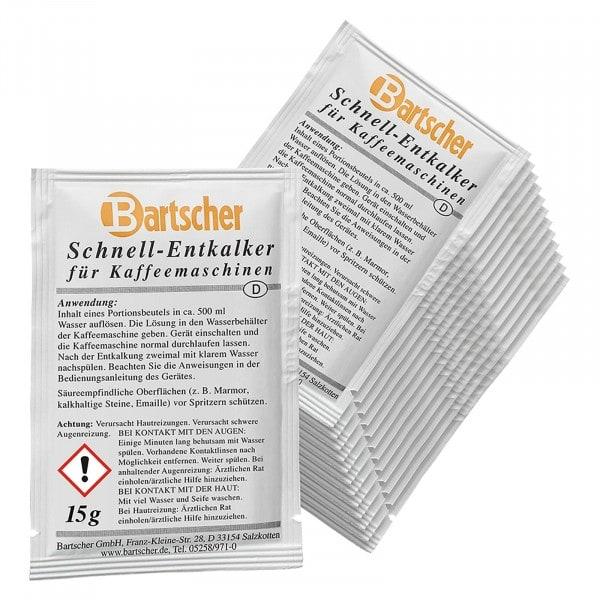 Gesamtansicht von Bartscher Entkalker - Kaffeemaschinen - 30Stk