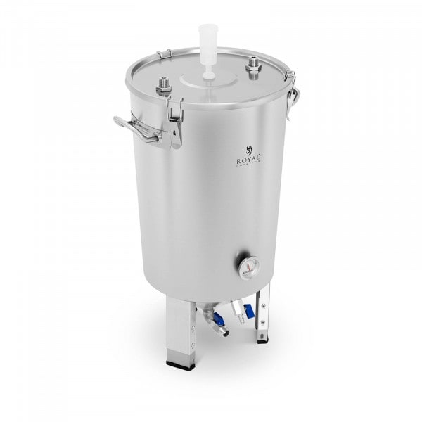 B-zboží Fermentační nádoba - 30 l - zabudovaná chladicí spirála