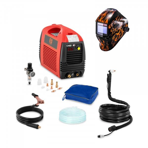 Svařovací set Plazmová řezačka - 50 A - 230 V - Basic + Svářecí helma - Firestarter 500 - ADVANCED SERIES