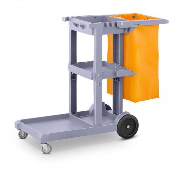 B-zboží Úklidový vozík s pytlem na prádlo