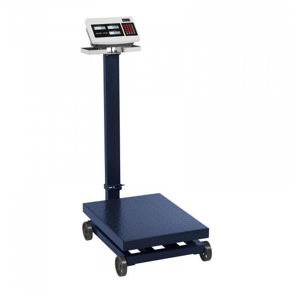 Plošinová váha - 600 kg / 100 g - pojízdná