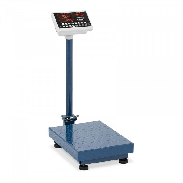 Plošinová váha - 100 kg / 10 g - 40 x 30 cm - skládací