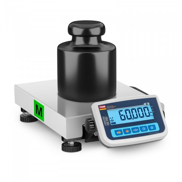 B-zboží Balíková váha - cejchovaná - 60 kg / 20 g
