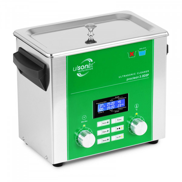 Ultrazvuková čistička - 3 litry - Degas - Sweep - Puls