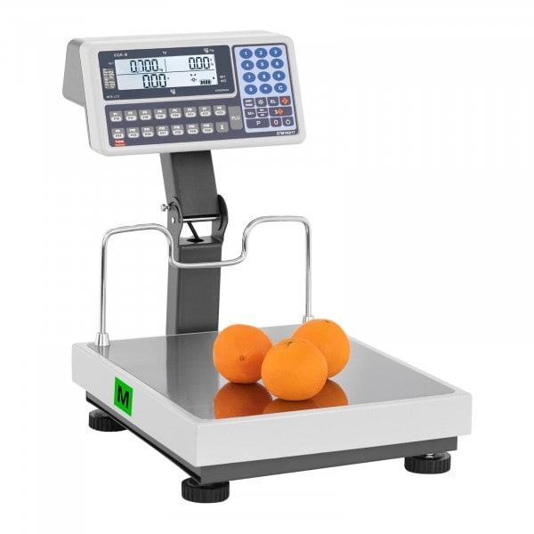 B-zboží Obchodní váha můstková - cejchovaná - 30 kg/10 g - 60 kg/20 g