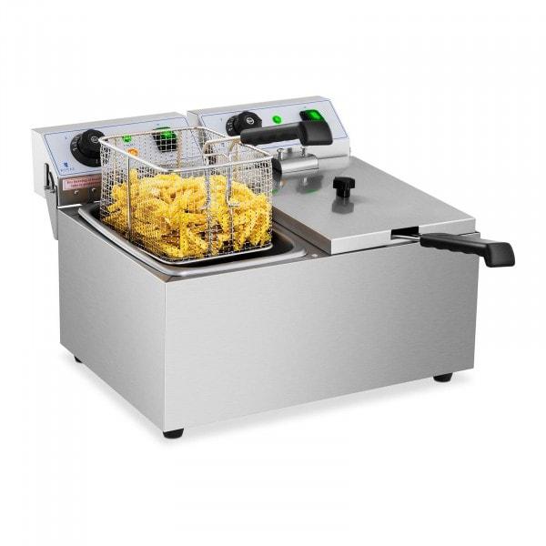 Elektrická fritéza - 2 x 8 litrů - 230 V