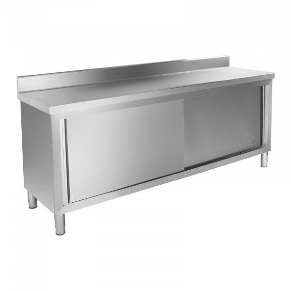 Pracovní skříň - 200 x 60 cm - s lemy