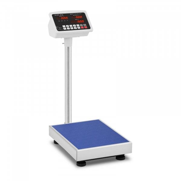 Plošinová váha - 100 kg / 10 g - 40 x 30 cm