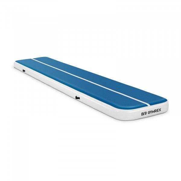 B-zboží Nafukovací žíněnka - 500 x 100 x 20 cm - 250 kg - modrá/bílá