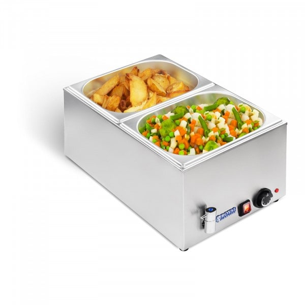 B-zboží Vodní lázeň - gastronádoba - 1/2 - výpustný kohout