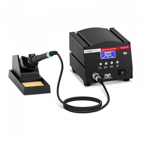 B-zboží Pájecí stanice - digitální - s páječkou a stojanem na páječku - 150 W - LCD