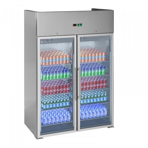Gastro chladnička se dvěma prosklenými dveřmi - 984 l
