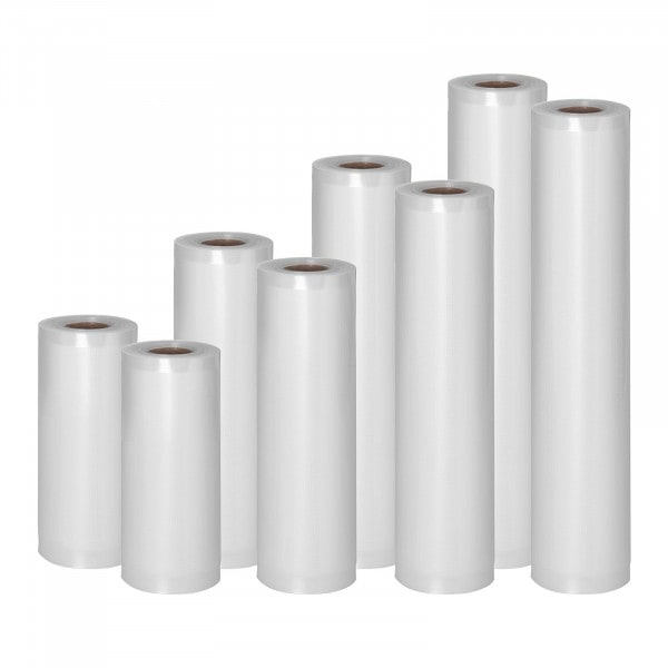 Vakuové sáčky-sada 8 rolí-48 m-15-30 cm