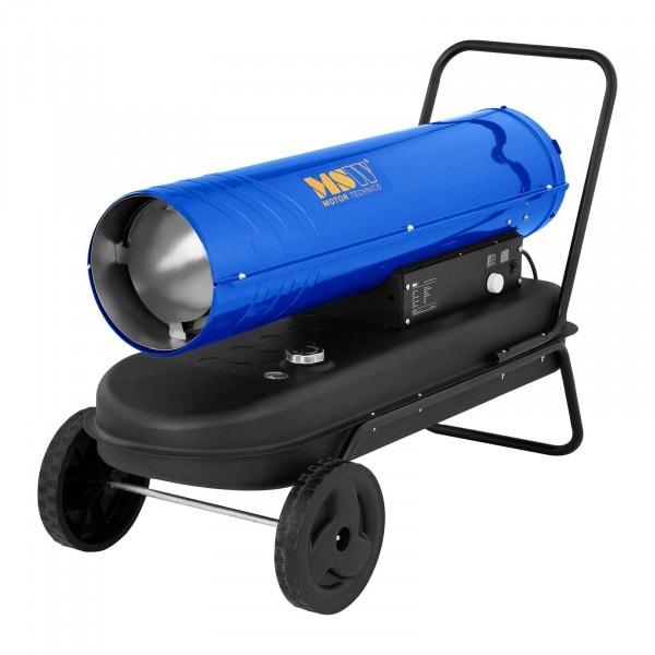 Naftové topidlo s podvozkem - 50 kW - 38 l