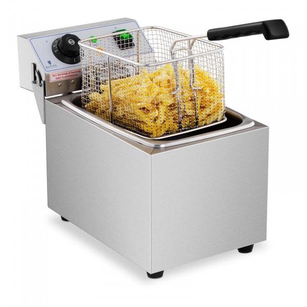 Elektrická fritéza - 8 litrů - 230 V