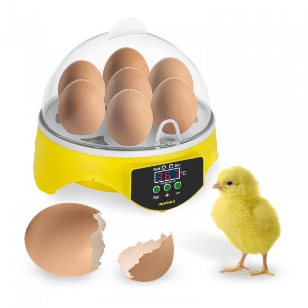 Umělá líheň - 7 vajec - včetně prosvěcovačky