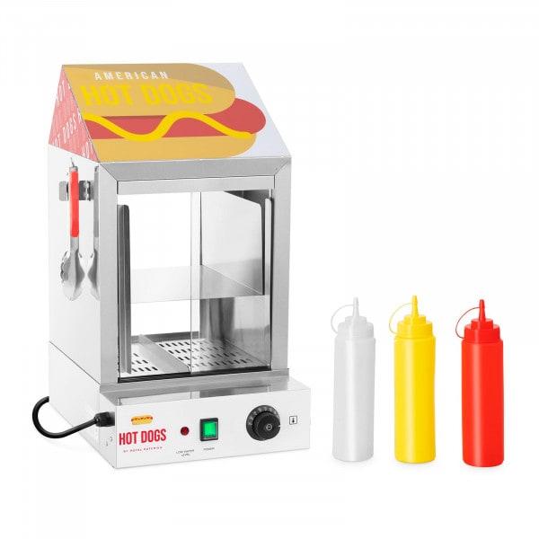 Ohřívač hotdogů - 100 párků- 25 rohlíků - 1 000 W