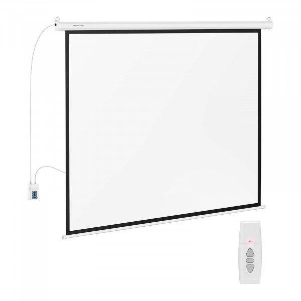 B-zboží Projekční plátno elektrické - 189 x 143 cm - 4:3