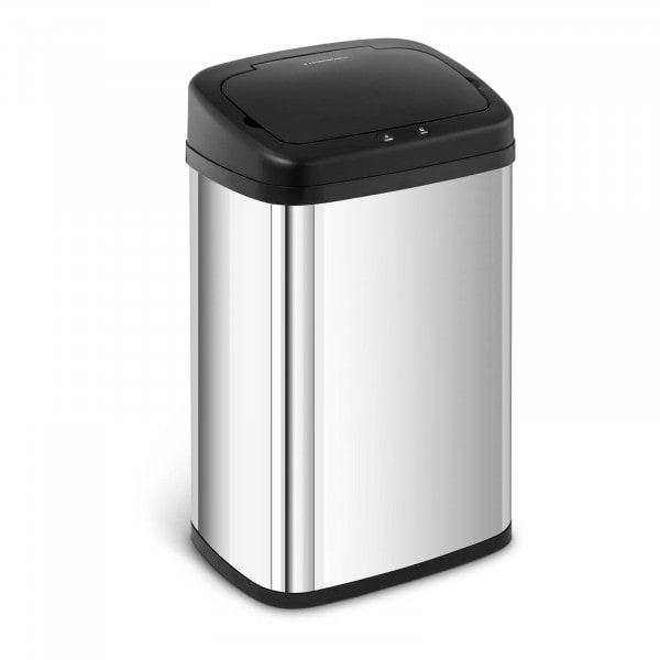 B-zboží Bezdotykový odpadkový koš - 30 l - hranatý