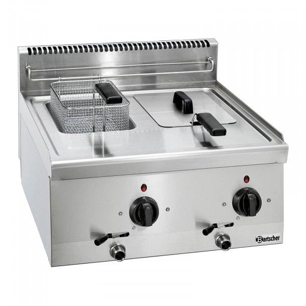 Bartscher fritéza 600 - Š 600mm - 2x 6 litrů