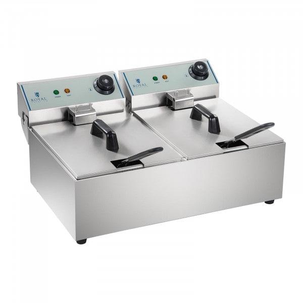 Elektrická fritéza - 2 x 10 l - ECO