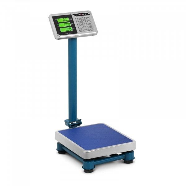 B-zboží Plošinová váha - 100 kg / 20 g - 40 x 30 cm - LCD - ušlechtilá ocel