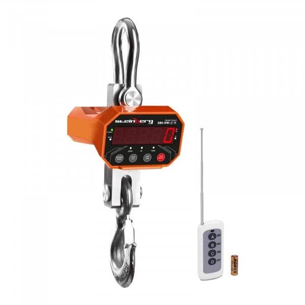 Jeřábová váha - 3 t / 1 kg -LED