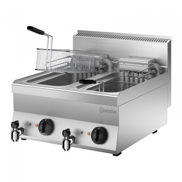 Bartscher fritéza 650 - Š 600mm - 2x10 litrů