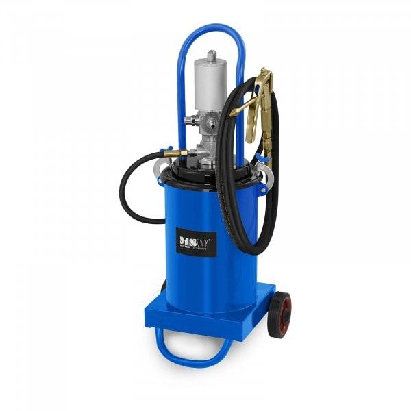 B-zboží Pneumatický mazací lis - 12 litrů - pojízdný - tlak čerpadla 240-320 barů