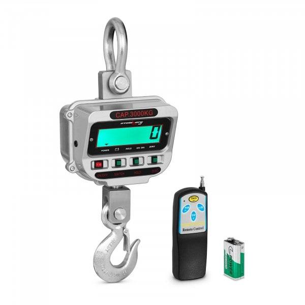 Jeřábová váha - 3 t / 0,5 kg - LCD