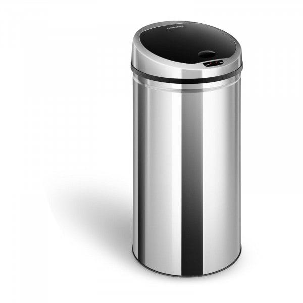 Bezdotykový odpadkový koš - 50 l - kulatý - s vnitřním vědrem