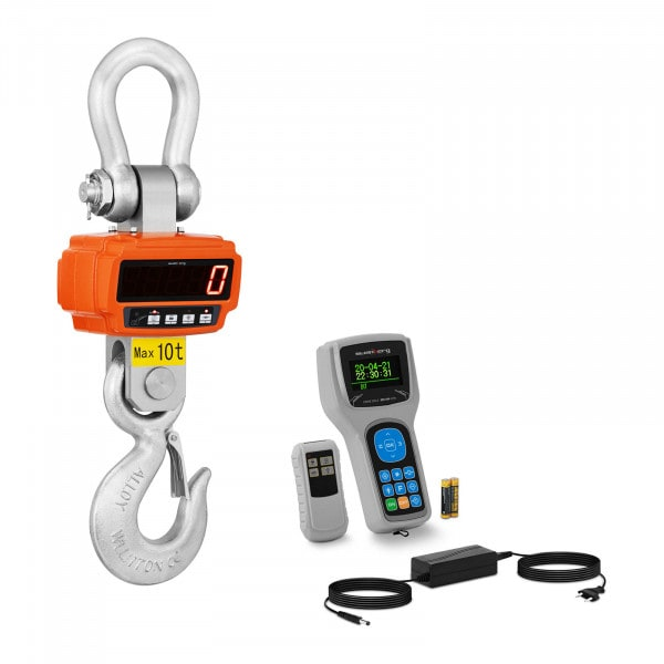Jeřábová váha - 10 t / 2 kg - Remote display