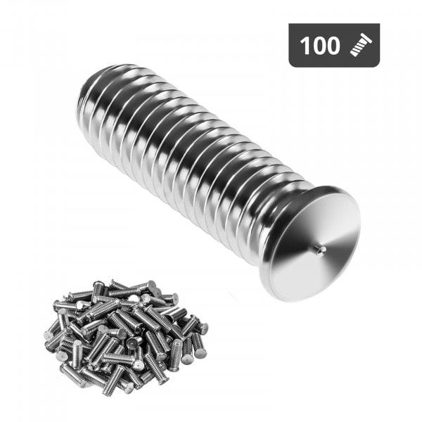 Navařovací šrouby-M5-15 mm-ušlechtilá ocel-100 kusů