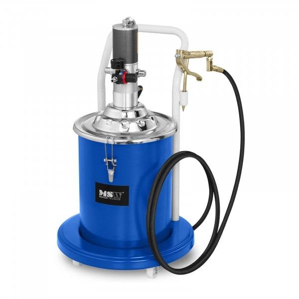 B-zboží Pneumatický mazací lis - 20 litrů - pojízdný - tlak čerpadla 300-400 barů