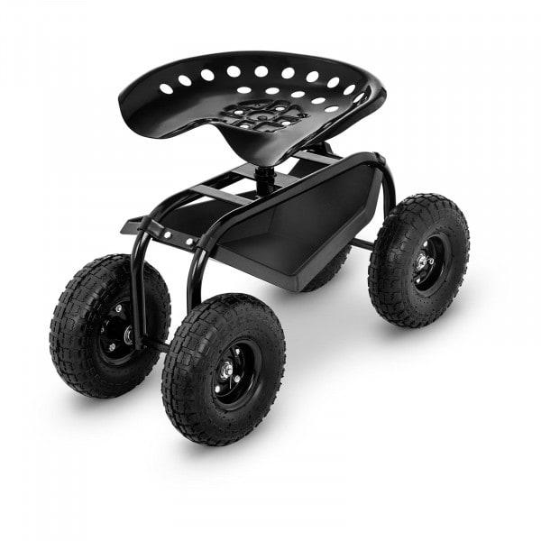 B-zboží Pojízdné zahradní sedátko - 150 kg