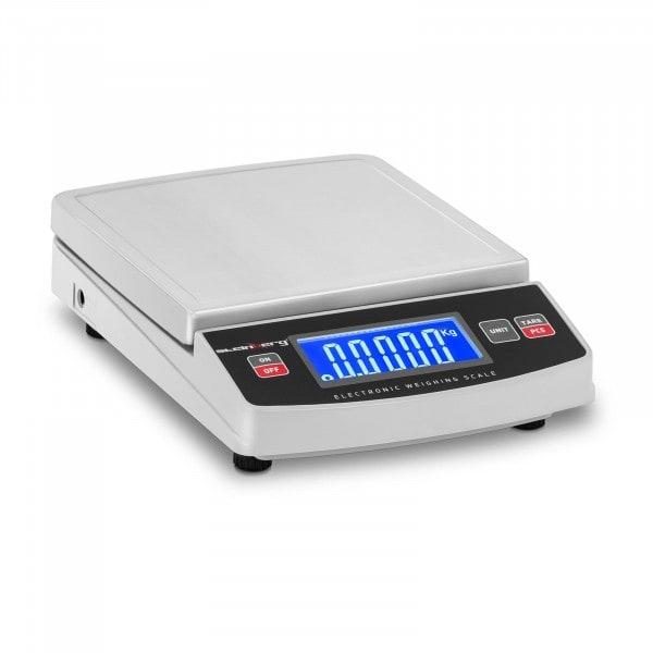 B-zboží Digitální stolní váha - 600 g / 0,1 g - 14,8 x 15,2 cm - LCD