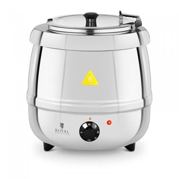 Kotlík na polévku - 10 litrů - 400 W - ušlechtilá ocel