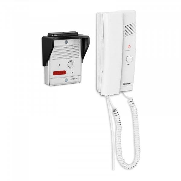 B-zboží Dveřní telefon - 1 sluchátko - montáž na omítku