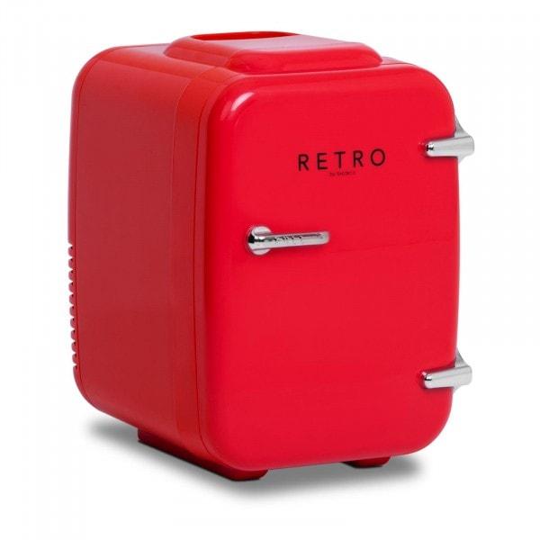 B-zboží Mini chladnička - 4 l - červená